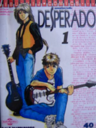 DESPERADO เพลงแห่งความฝัน - daiji  matsumoto 1-4จบ