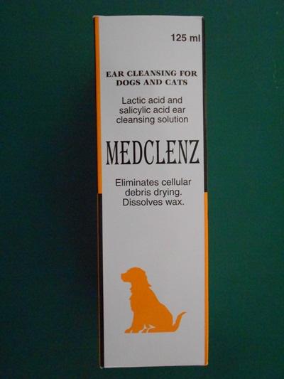 MEDCLENZ น้ำยาเช็ดหูสำหรับสุนัข และแมว