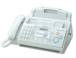 Panasonic เครื่องโทรสารกระดาษธรรมดาระบบฟิมล์ 70เมตรรุ่นKX-FP701
