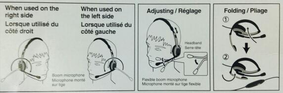 Panasonic ชุดหูฟังโทรศัพท์ครอบศรีษะพานาโซนิค RP-TCA430E 2