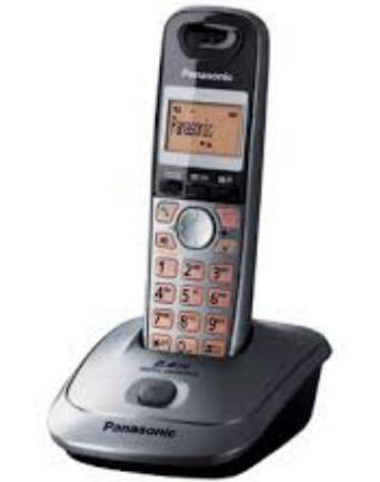 Panasonic เครื่องโทรศัพท์ไร้สายพานาโซนิค รุ่น KX-TG3551BX 1