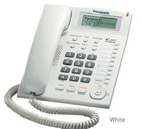 Panasonic เครื่องโทรศัพท์มีสายพานาโซนิค รุ่นKX-TS880MX
