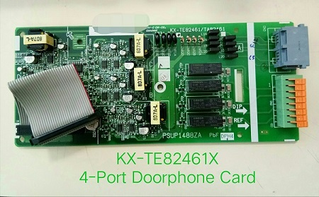 Panasonic แผงวงจร 4-Port Doorphone Card Panasonic KX-TE82461X