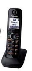 Panasonic เครื่องโทรศัพท์ตัวลูกไร้สายพานาโซนิค รุ่นKX-TGA381BX