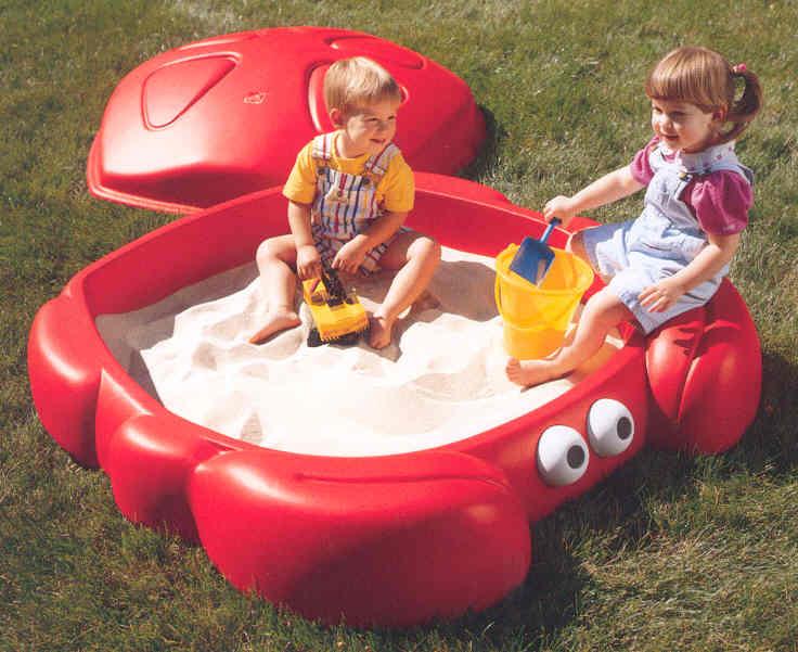 กระบะทรายปู  # 7405 Crabbie Sandbox