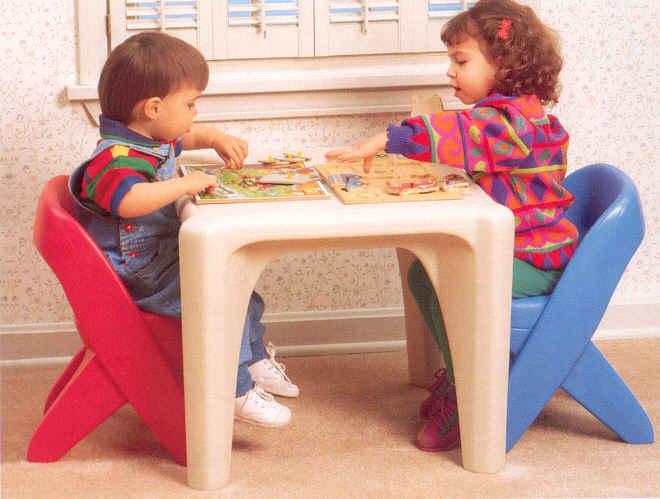 Table & Chair Set # 7525  Step 2
