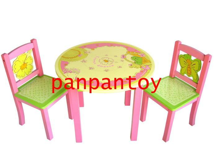 โต๊ะ1 + เก้าอี้ 2 ไม้ยางพารา Little Garden โทร. 02-6780689-90