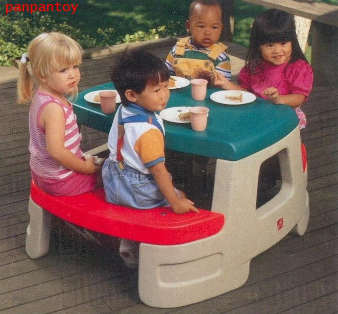 โต๊ะปิคนิค Big Top Picnic Table Step 2  7500