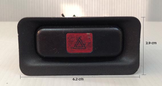 สวิทไฟฉุกเฉิน Honda Civic EG (ฮอนด้า ซีวิค) เตารีด ปี 1992-1995