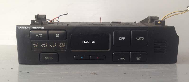 ช่องปรับสไลด์แอร์อัตโนมัติ คอนโซลกลาง Nissan Skyline (นิสสัน สกายไลน์) R32