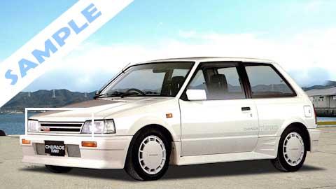 หน้ากระจัง Daihatsu Charade G11 Turbo (ไดฮัทสุ ชาเรท) เทอร์โบ 3