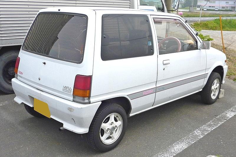 บังโคลนขวา ไดฮัทสุ มิร่า (Daihatsu Mira) L70/L80 ตาเหลี่ยม 3