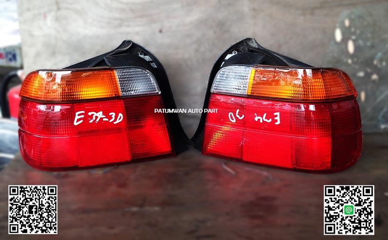 ไฟท้าย BMW E34 Coupe (บี เอ็ม ดับบลิวยู) คูเป้