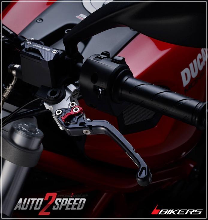 ชุดมือเบรคคลัตซ์ปรับพับ Bikers DUCATI MONSTER795 ส่งฟรีๆๆๆ