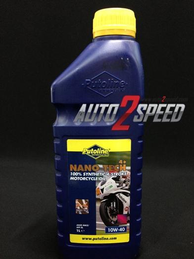 น้ำมัน Putoline Nano Tech 10W-40 1ลิตร