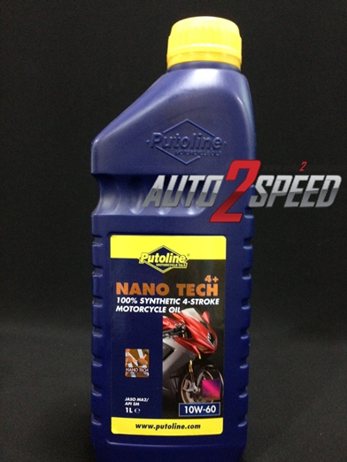 น้ำมัน Putoline Nano Tech 10W-60 1ลิตร