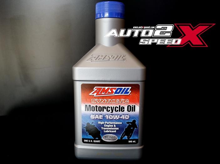 น้ำมันAMSOIL 10W40 Synthetic 946 ML (ขายดีจ้า)