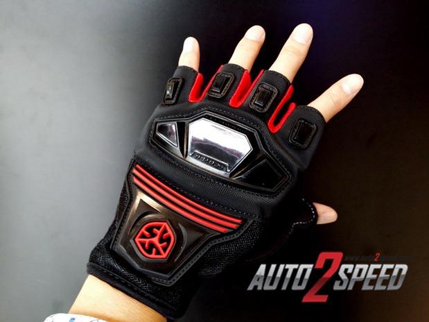 ถุงมือ ครึ่งนิ้ว SCOYCO รุ่น MC24D มาใหม่ ส่งฟรี