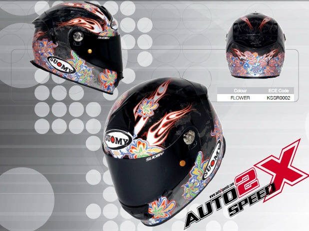 หมวกกันน็อค SUOMY SR SPORT FLOWER ส่งฟรี