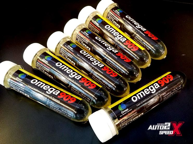 Omega 909 หัวเชื้อน้ำมันเครื่อง ส่งฟรีๆ