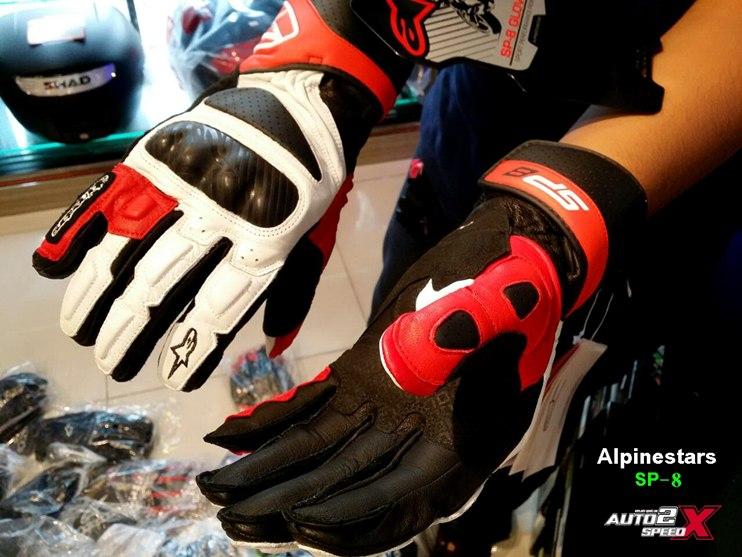 GLOVE Alpinestars Sp8 ข้อยาว ส่งฟรีๆ