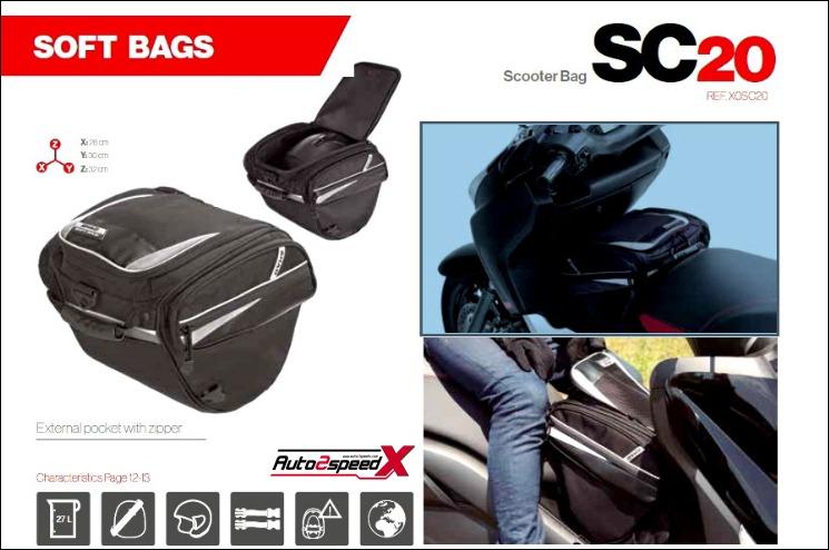 กระเป๋าคาดคอนโซล SHAD SC20 ส่งฟรี
