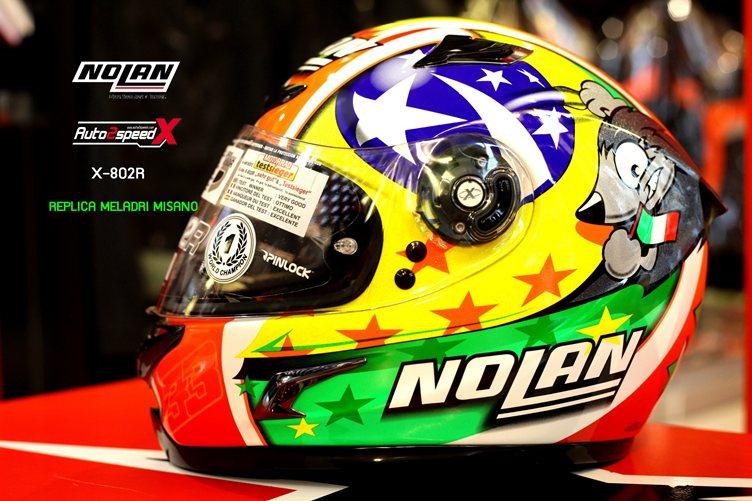 หมวกกันน็อค NOLAN X-802R MELADRI MISANO