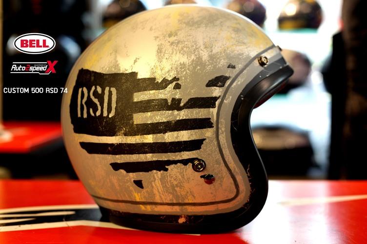 หมวกกันน็อค BELL CUSTOM500 RSD74