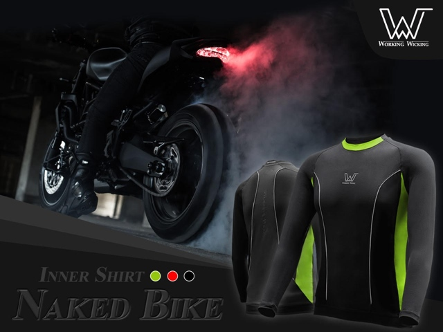 Inner Shirt  Working Wicking ส่งฟรี