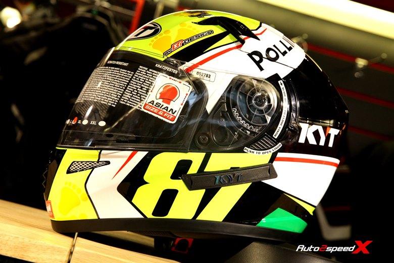 หมวกกันน็อค K RACING VENOM Replica Luca Marconi