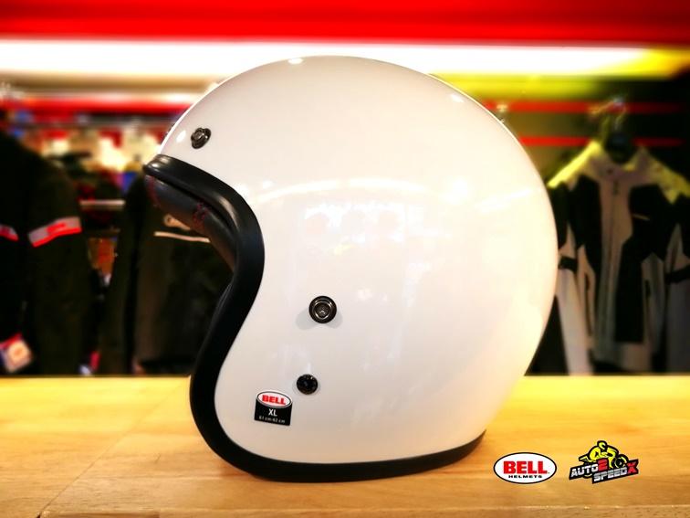 หมวกกันน็อค BELL CUSTOM500 WHITE
