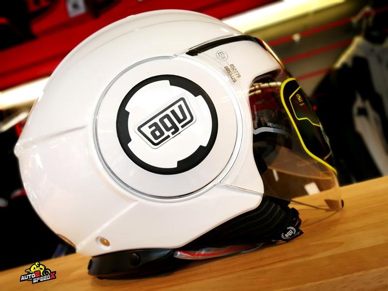 หมวกกันน็อค AGV FLUID White