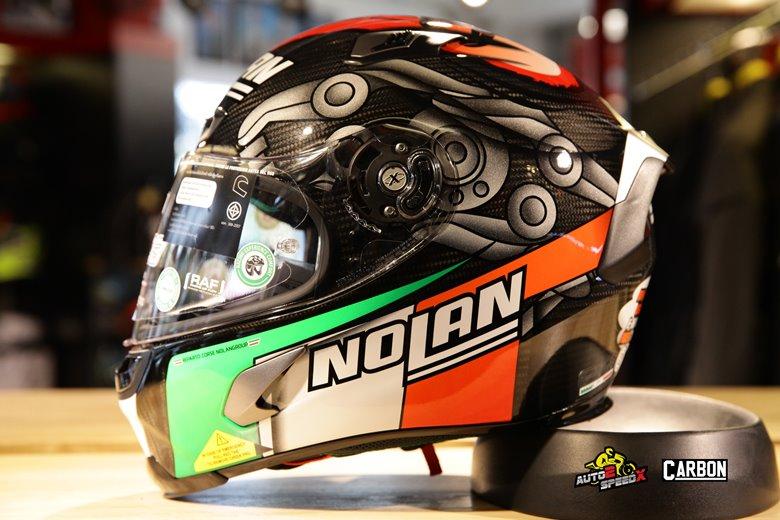 หมวกกันน็อค NOLAN X-803 M MELANDRI CARBON