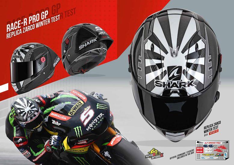 หมวกกันน็อค SHARK RACE R PRO GP ZARCO WINTER TEST