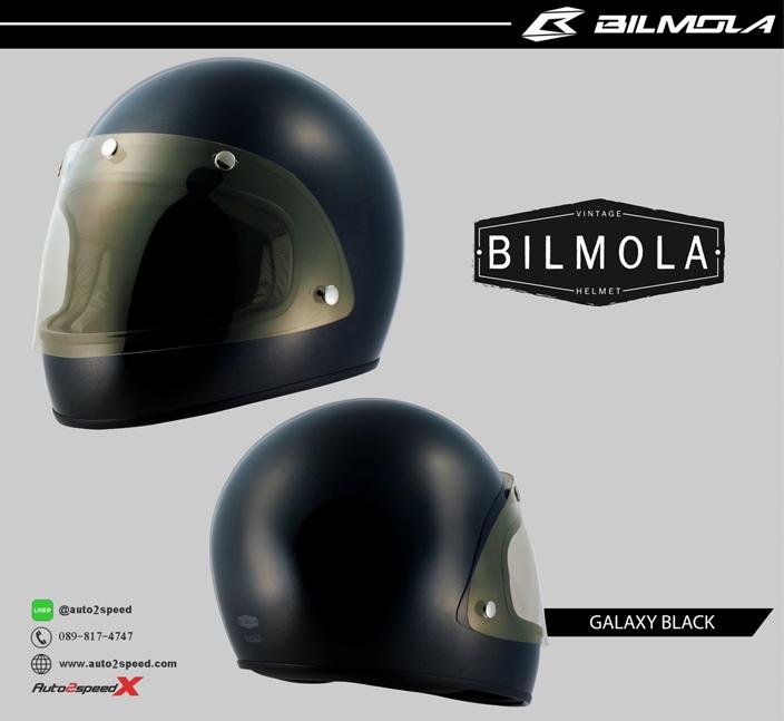 หมวกกันน็อค Bilmola Bullet Galaxy Black