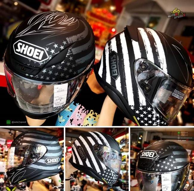 หมวกกันน็อค SHOEI Z7 Dedicated USA TC5
