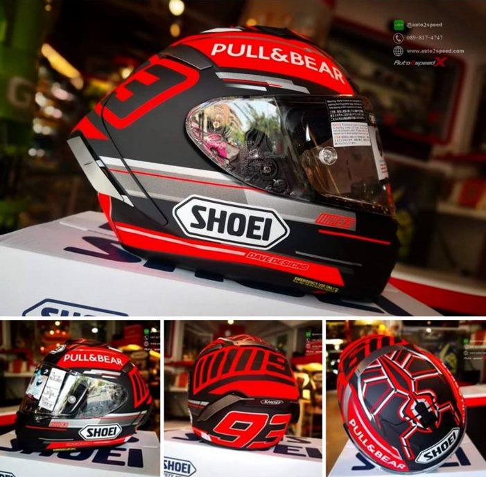 หมวกกันน็อค SHOEI X SPIRIT III Marquez Concept TC1