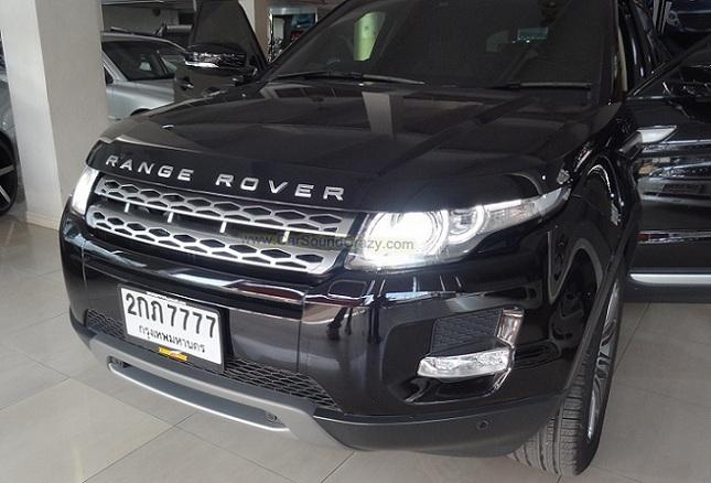 Video unlock Video in motion Land Rover evoque