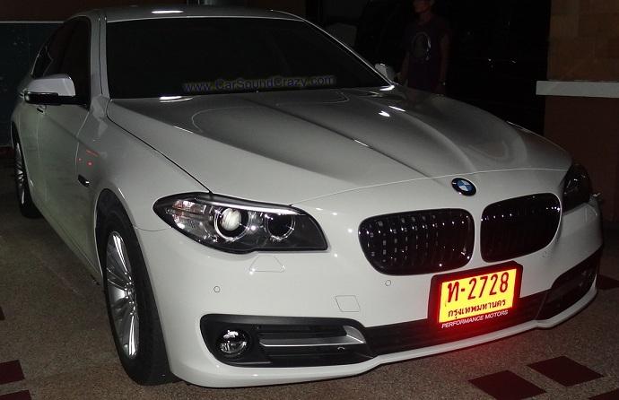 DVD GPS Digital  TV ตรงรุ่น สำหรับ BMW F10 Series 5
