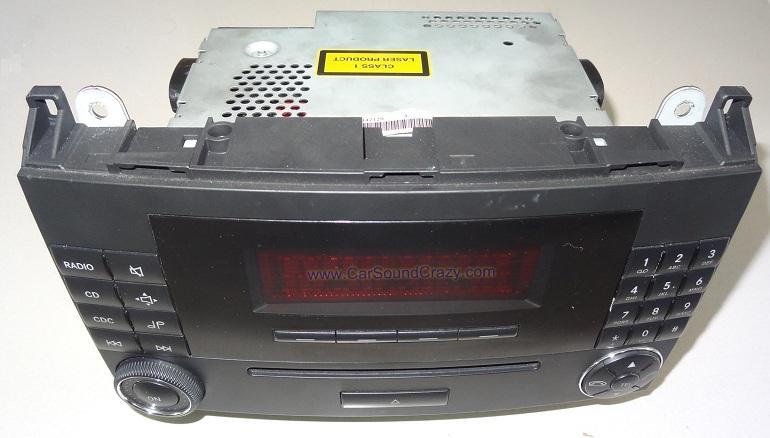 ซ่อมวิทยุ CD ติดรถยนต์ Benz W169 A Class W245 B Class