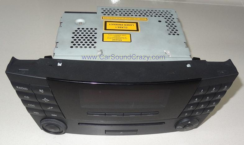 ซ่อมวิทยุ CD ติดรถยนต์ Benz W211 E Class