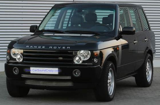 Range Rover Evouqe Android GPS Bluetooth ตรงรุ่น
