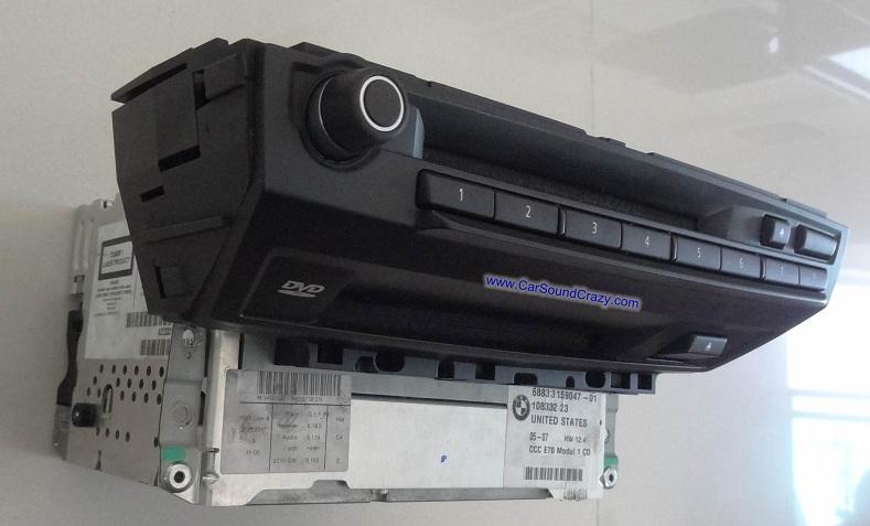 ซ่อมวิทยุ แอมป์ DVD ติดรถยนต์ BMW E70 X5