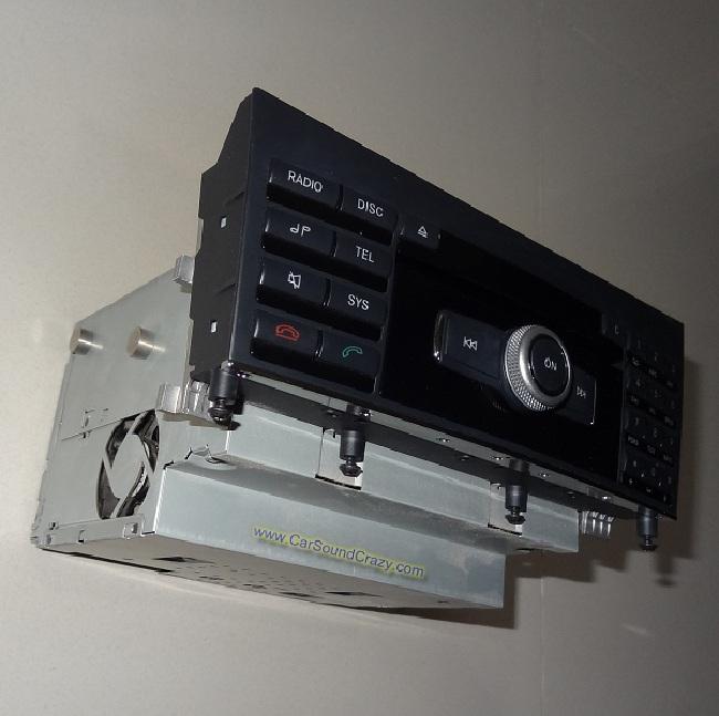 ซ่อมเครื่องเสียง วิทยุ CD DVD Benz E Class W212 2