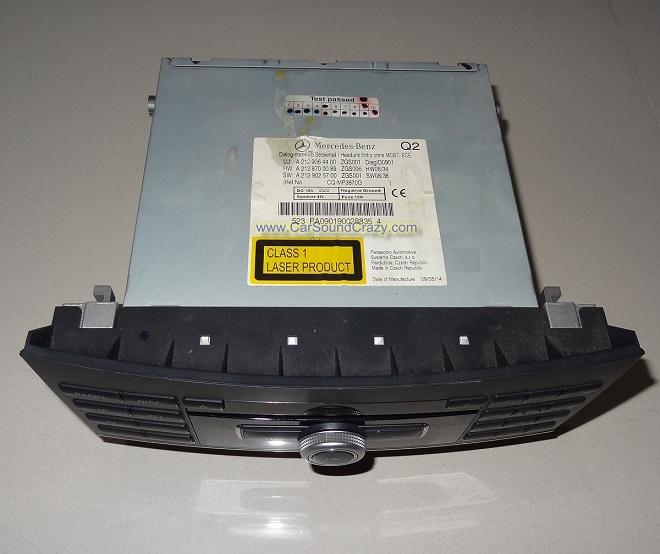 ซ่อมเครื่องเสียง วิทยุ CD DVD Benz E Class W212 6