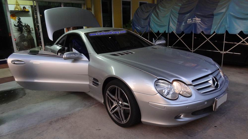 Benz R230 SL500 Class (2003-2012) Android DVD GPS Bluetooth ตรงรุ่น