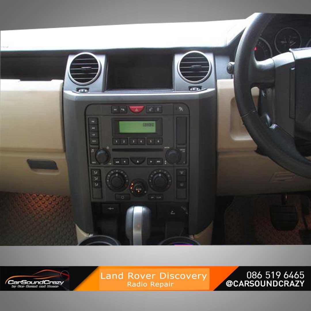 ซ่อมวิทยุติดรถยนต์ Range Rover
