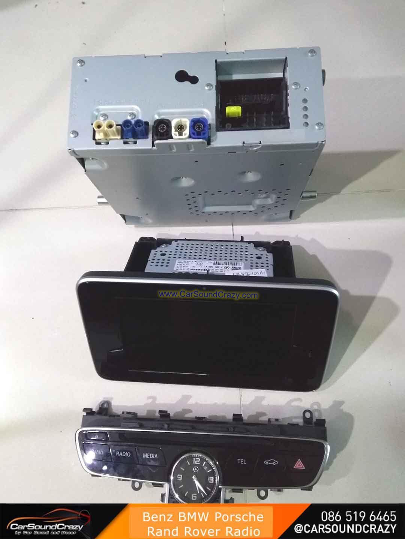 วิทยุ CD ติดรถยนต์แท้ ของใหม่ รถยุโรป Benz BMW Audi Porsche Volvo