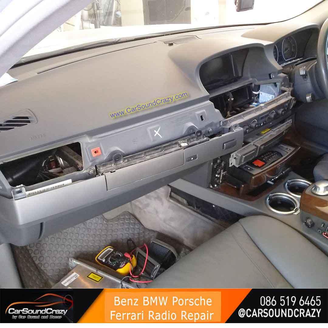 ซ่อมวิทยุ CD DVD ติดรถยนต์ BMW E65 E66