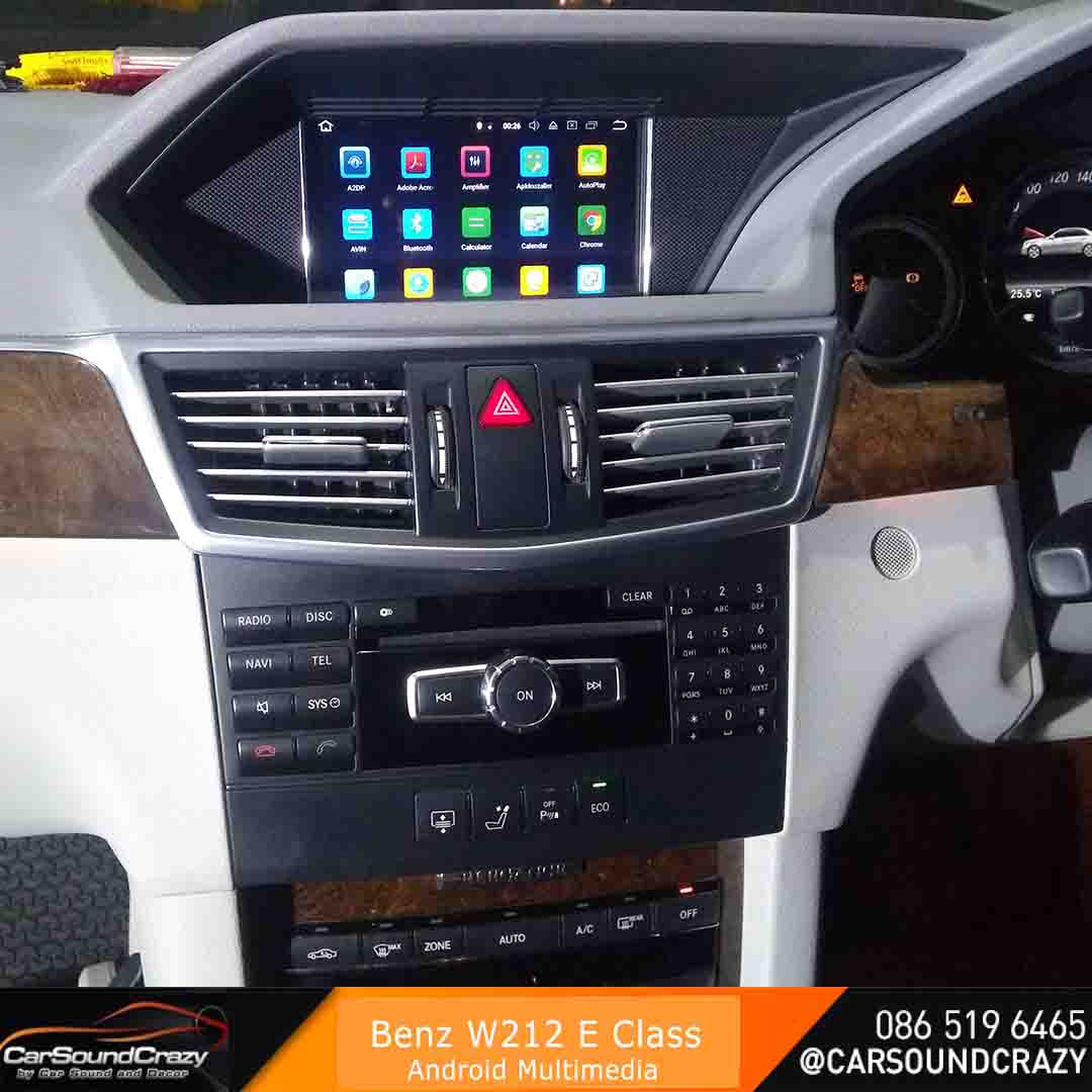 Benz W212 E Class (2009-2013) จอ Android 7 นิ้ว ตรงรุ่น 6
